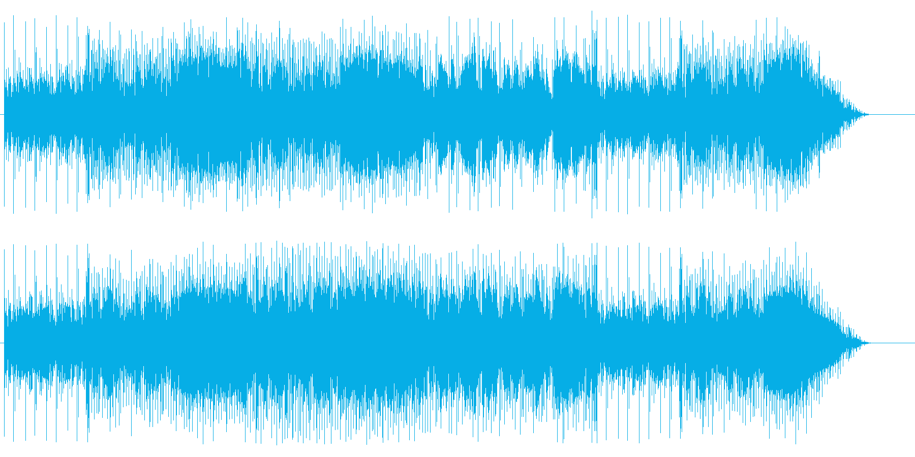 ファンタジーRPG等のダンジョン、ワン…の再生済みの波形