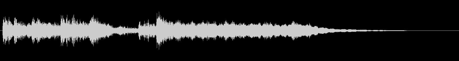 高音質♪和琴笛ジングル・アイキャッチの未再生の波形