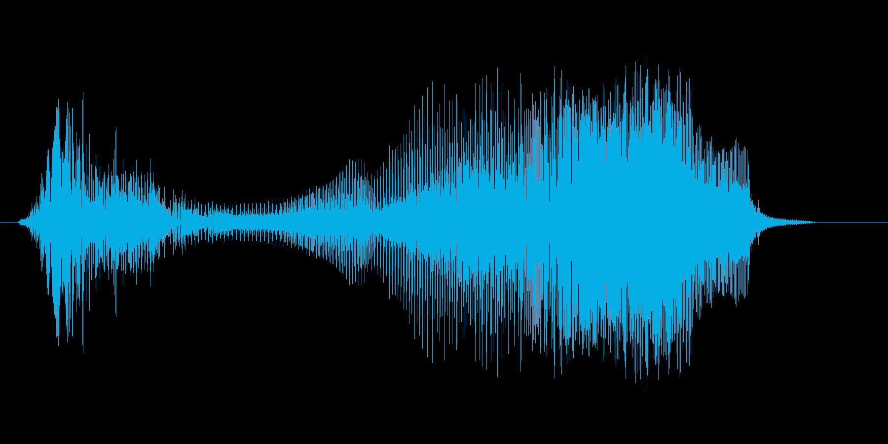 うおおっ!(Type-E)の再生済みの波形