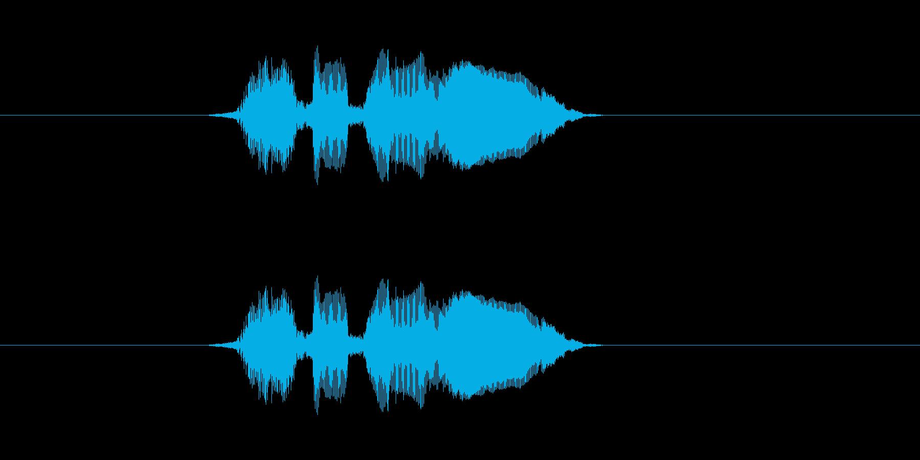 ひまでぃ〜の再生済みの波形