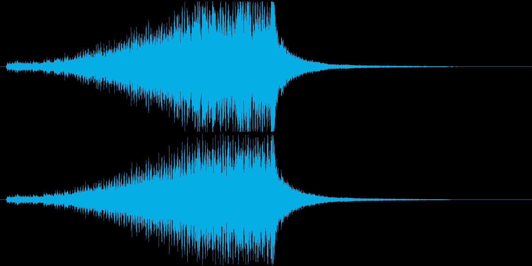 ドラムロールE(長め・シンバル有り)の再生済みの波形