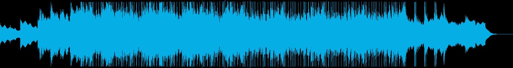カノン風の落ち着いたジングルの再生済みの波形