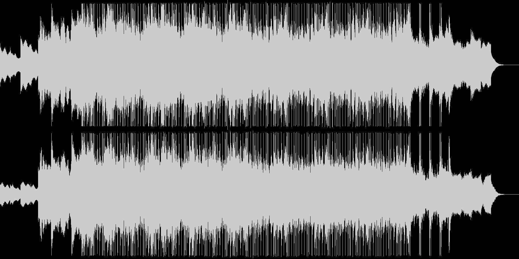 カノン風の落ち着いたジングルの未再生の波形