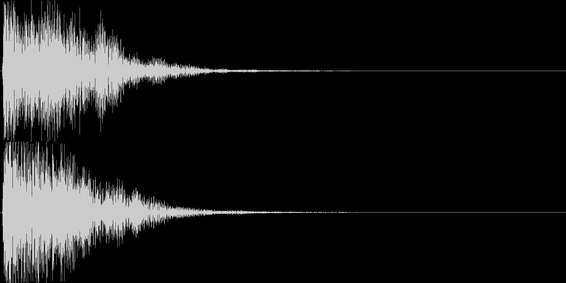ピコ(ゲーム、アプリなどの操作音10)の未再生の波形
