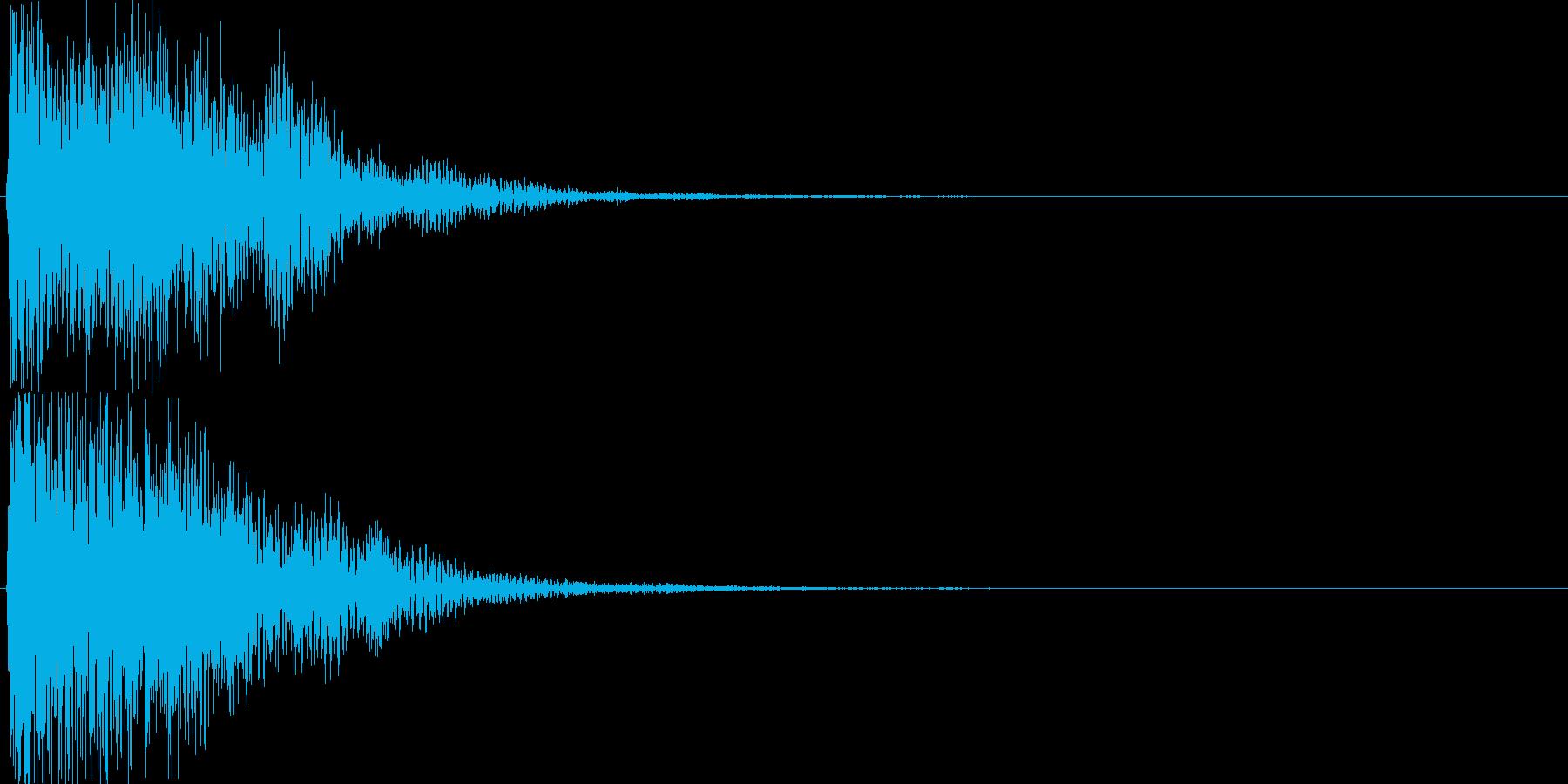 ピコ(ゲーム、アプリなどの操作音10)の再生済みの波形