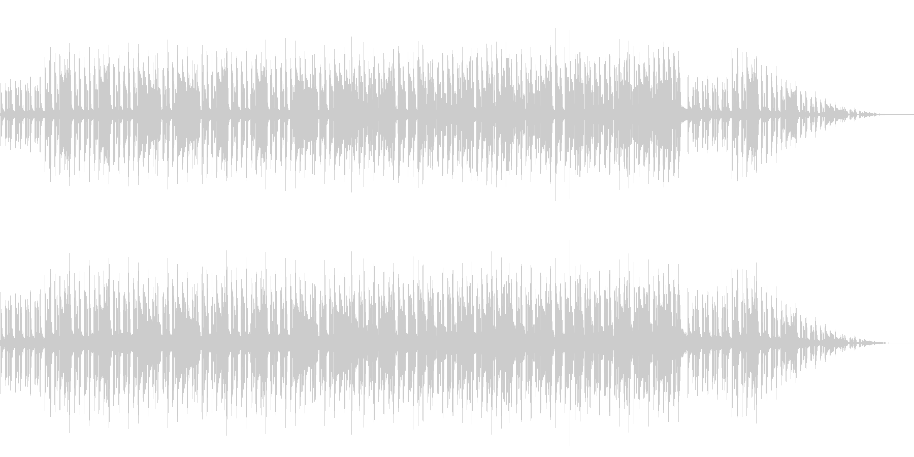 8bitクラシック-小さな白鳥たちの踊りの未再生の波形