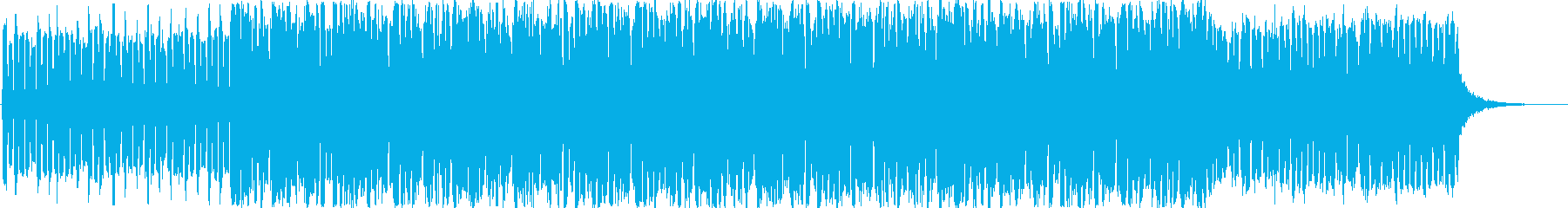 コーラスが独特な世界観のダークな楽曲の再生済みの波形