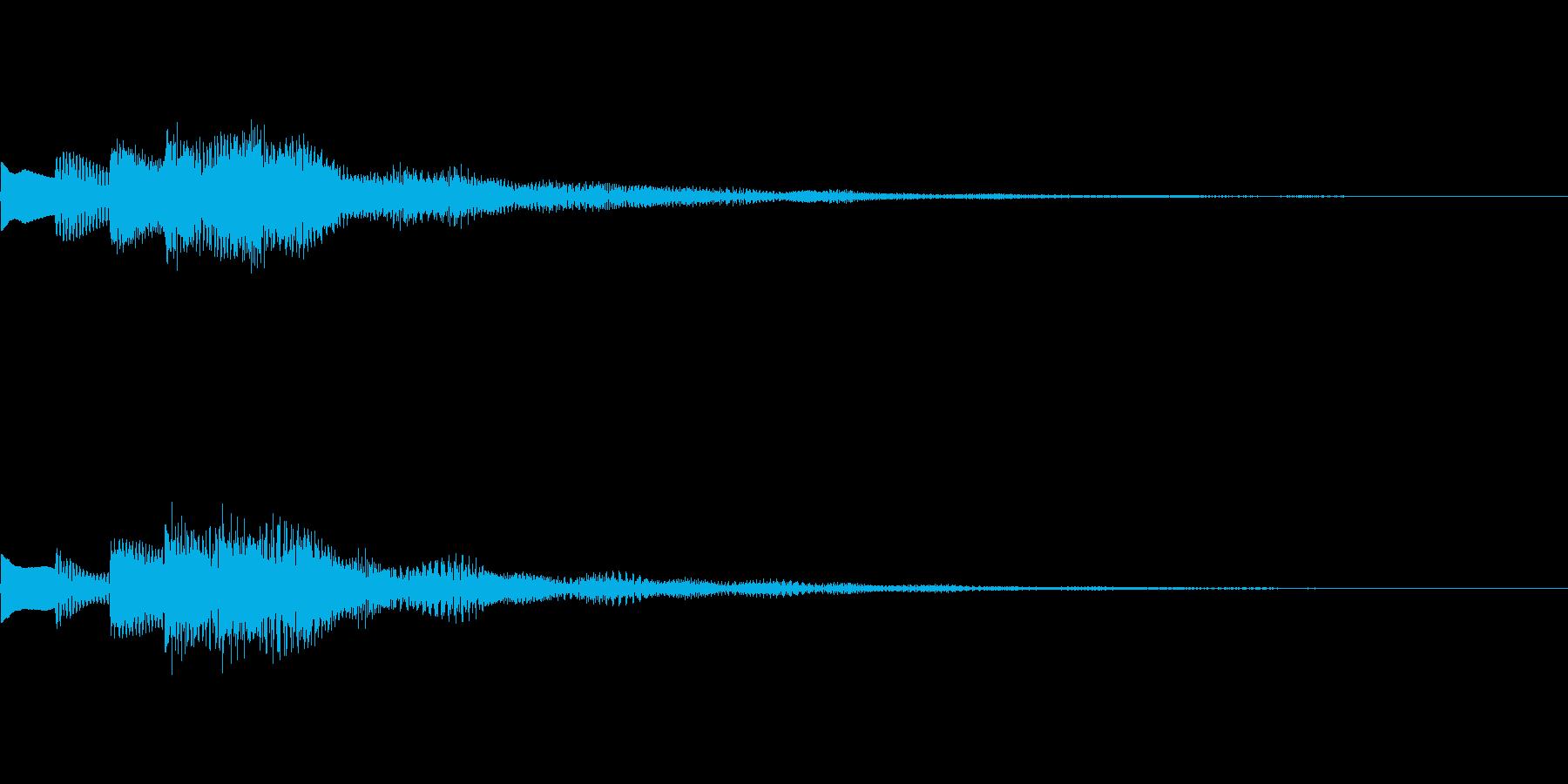 正解!の時のジングル その4の再生済みの波形