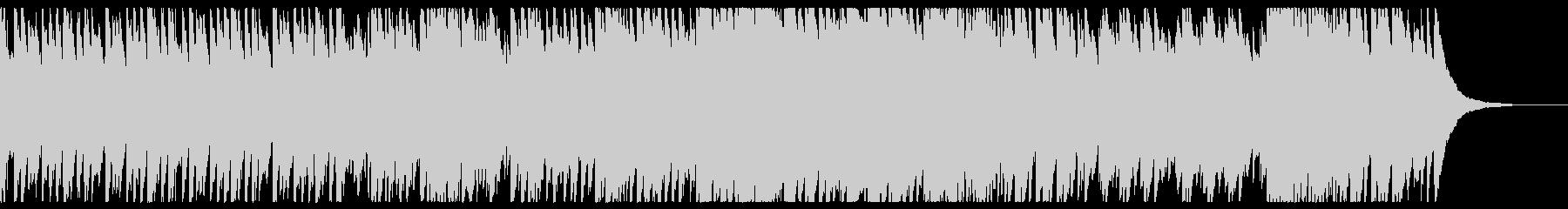 細く鳴り響くオルゴールの未再生の波形