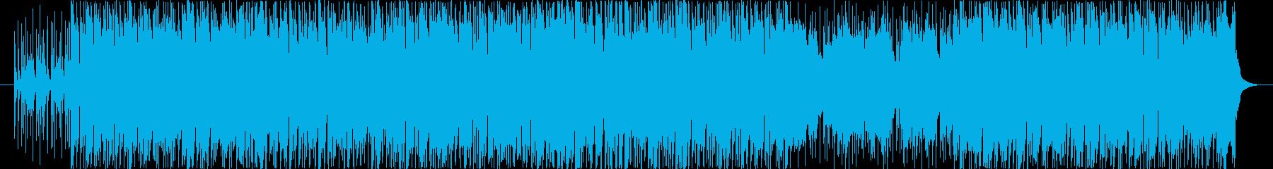 王道アメリカンロックですの再生済みの波形