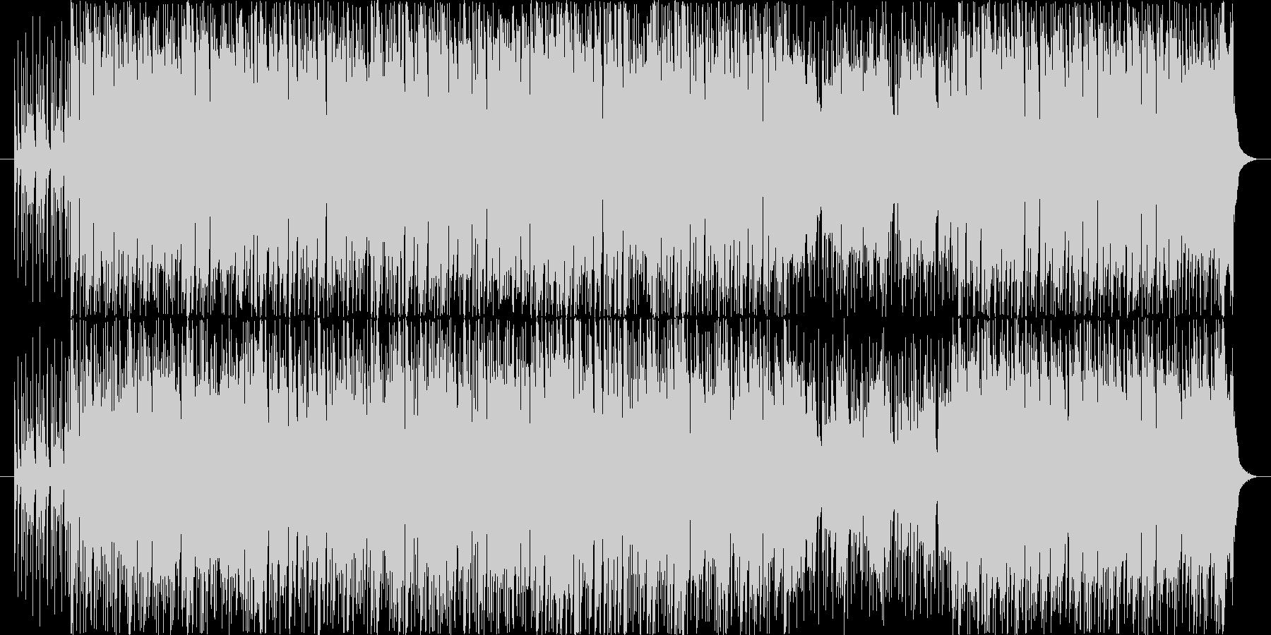 王道アメリカンロックですの未再生の波形