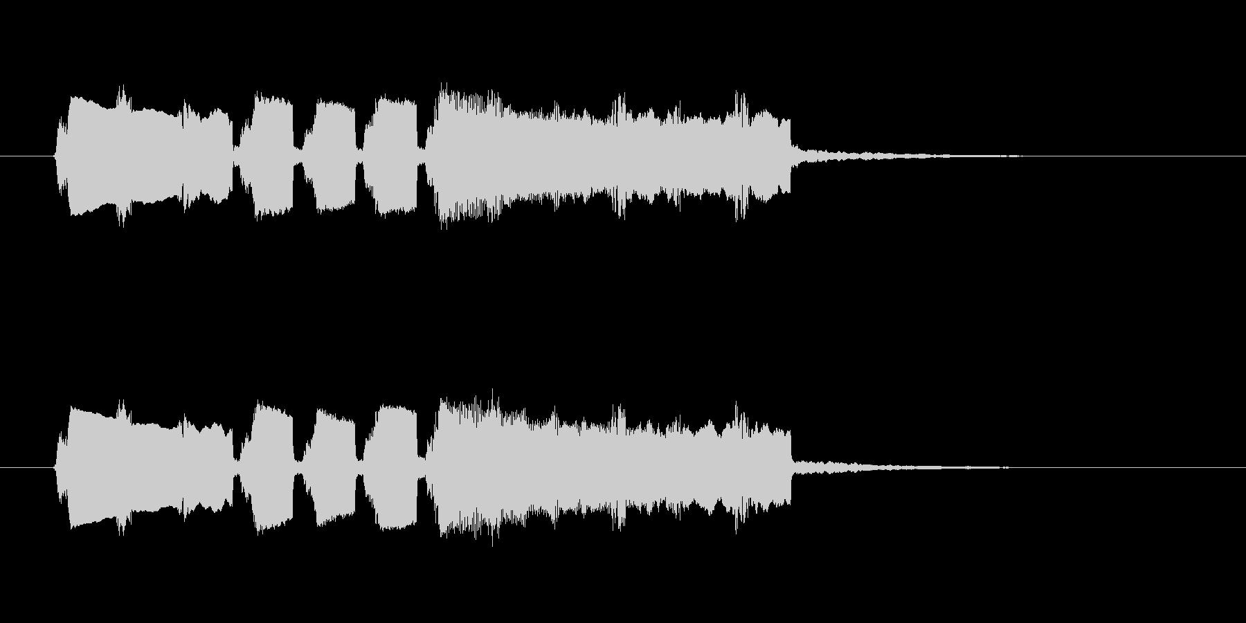 フィーンというひょうきんなシンセ音の未再生の波形