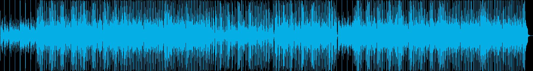 「曇りのち晴れ」ほのぼのアコースティックの再生済みの波形