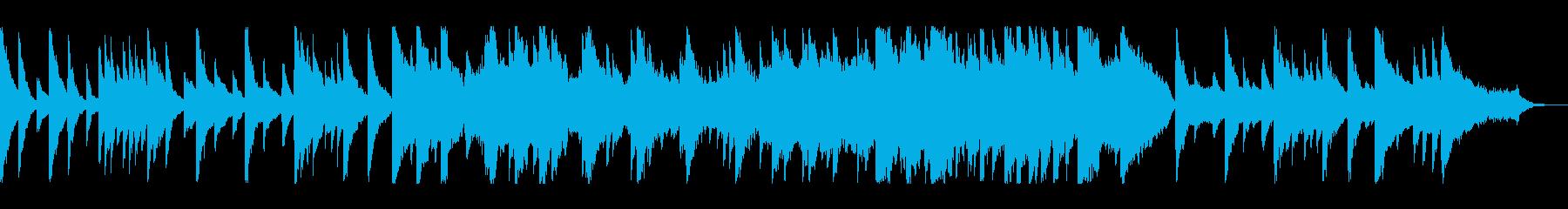 シンプルな構成で心に響くバラードの再生済みの波形
