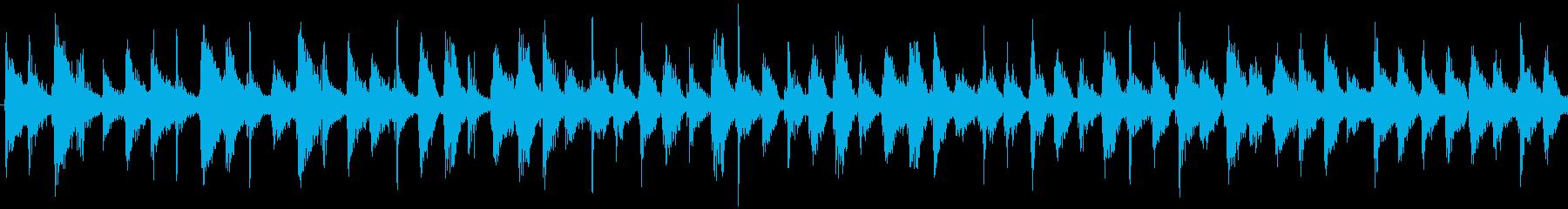 ミステリアスでリズミカルなアンビエントの再生済みの波形