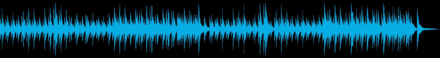 ジムノペディ ピアノ 普通の速さの再生済みの波形