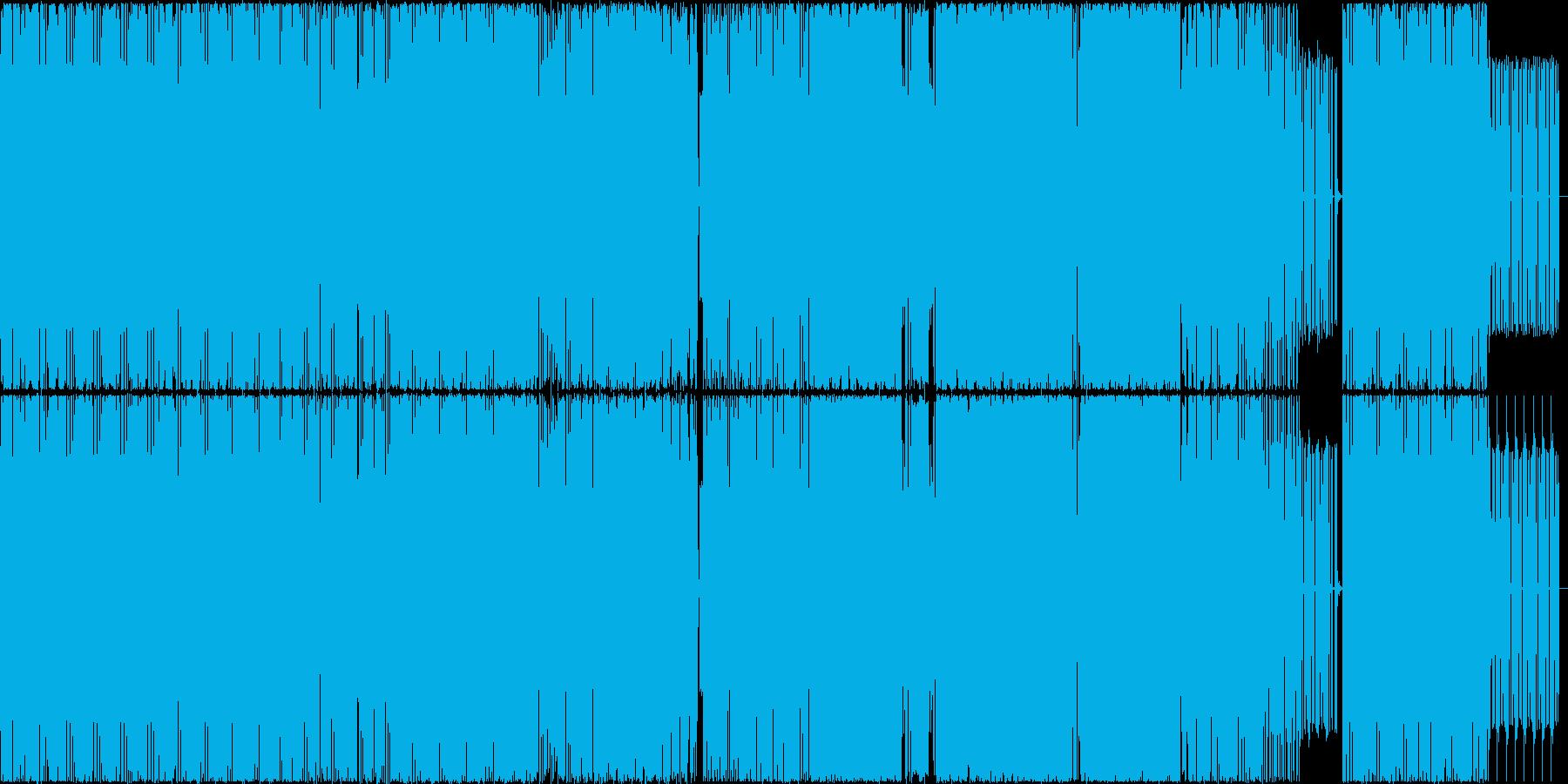 謎めいて淡々としたミニマルテクノの再生済みの波形