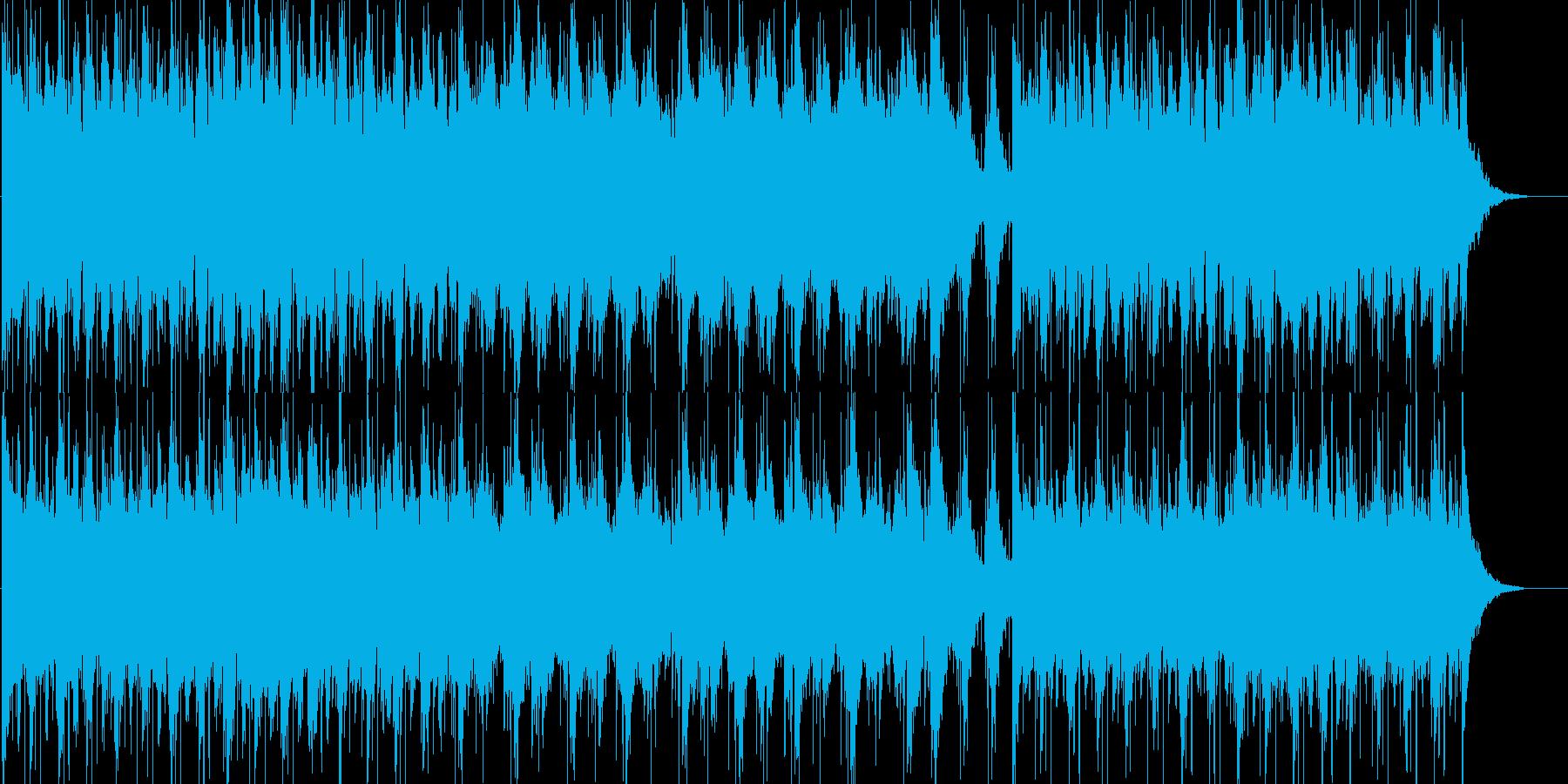 旅立ちをイメージした感動オーケストラ曲の再生済みの波形