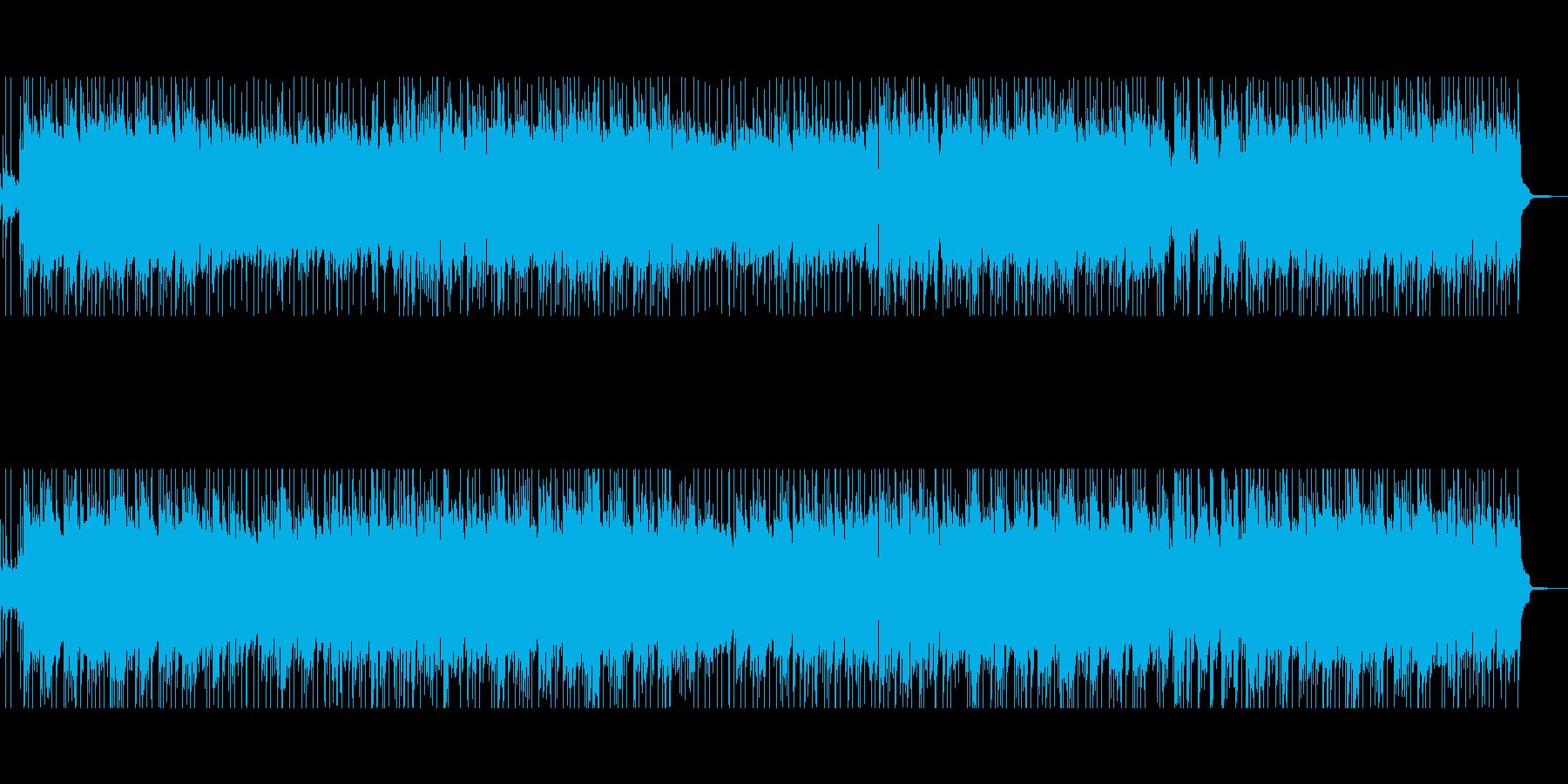 お薦め!軽快なラウンジ風ピアノボッサの再生済みの波形