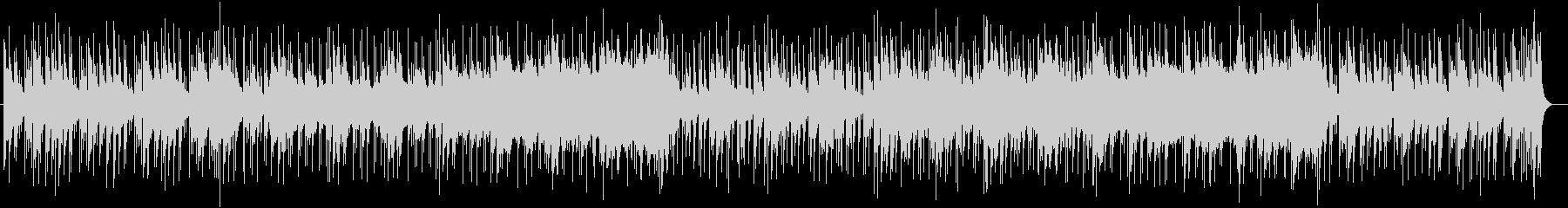 切なくゆったりしたシンセサイザーサウンドの未再生の波形