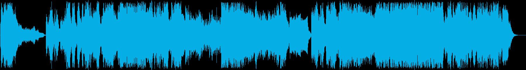 上品で高貴なシュトラウス風ワルツ の再生済みの波形
