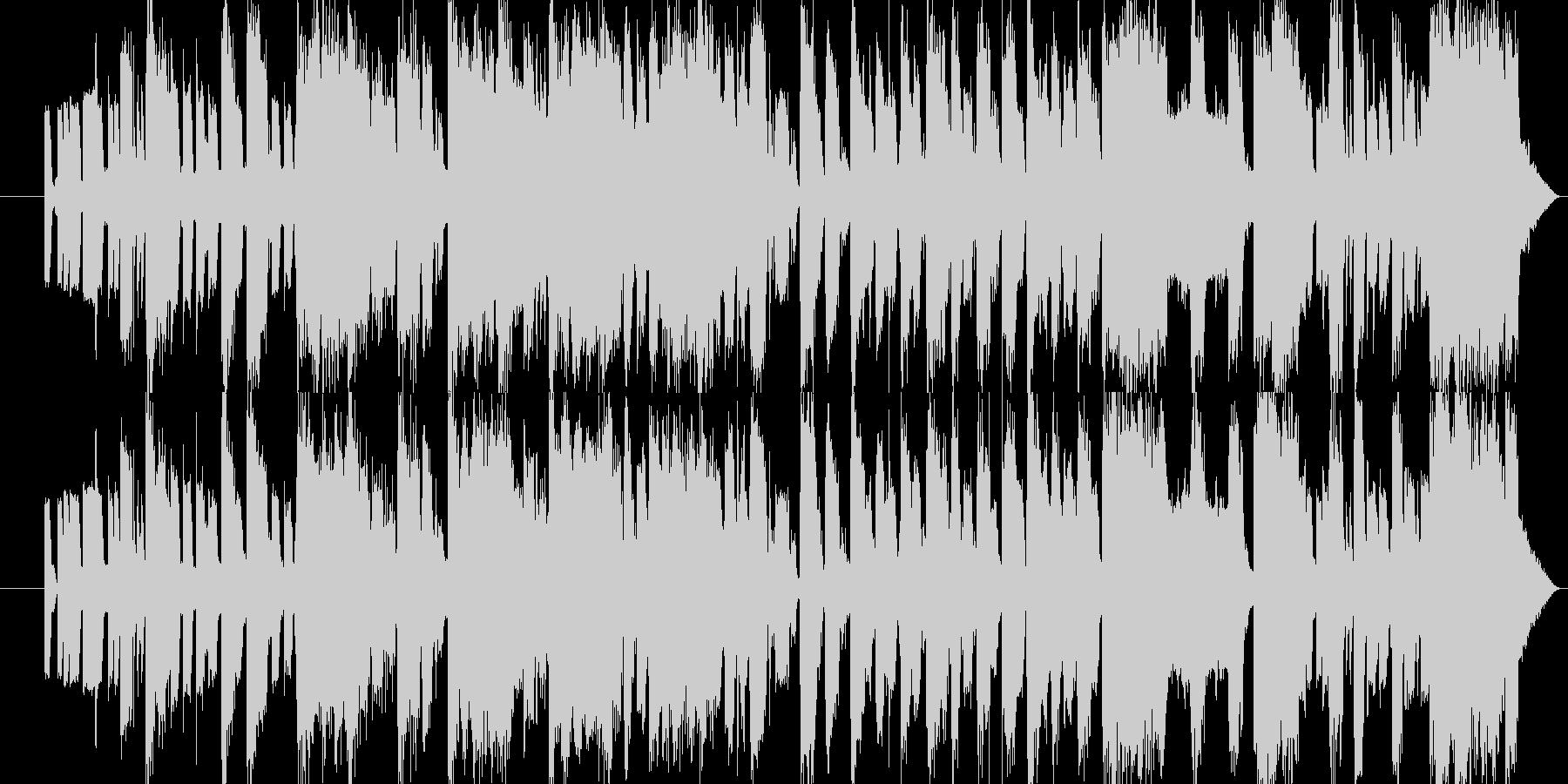 アーケードゲーム風をTrapのリズムでの未再生の波形