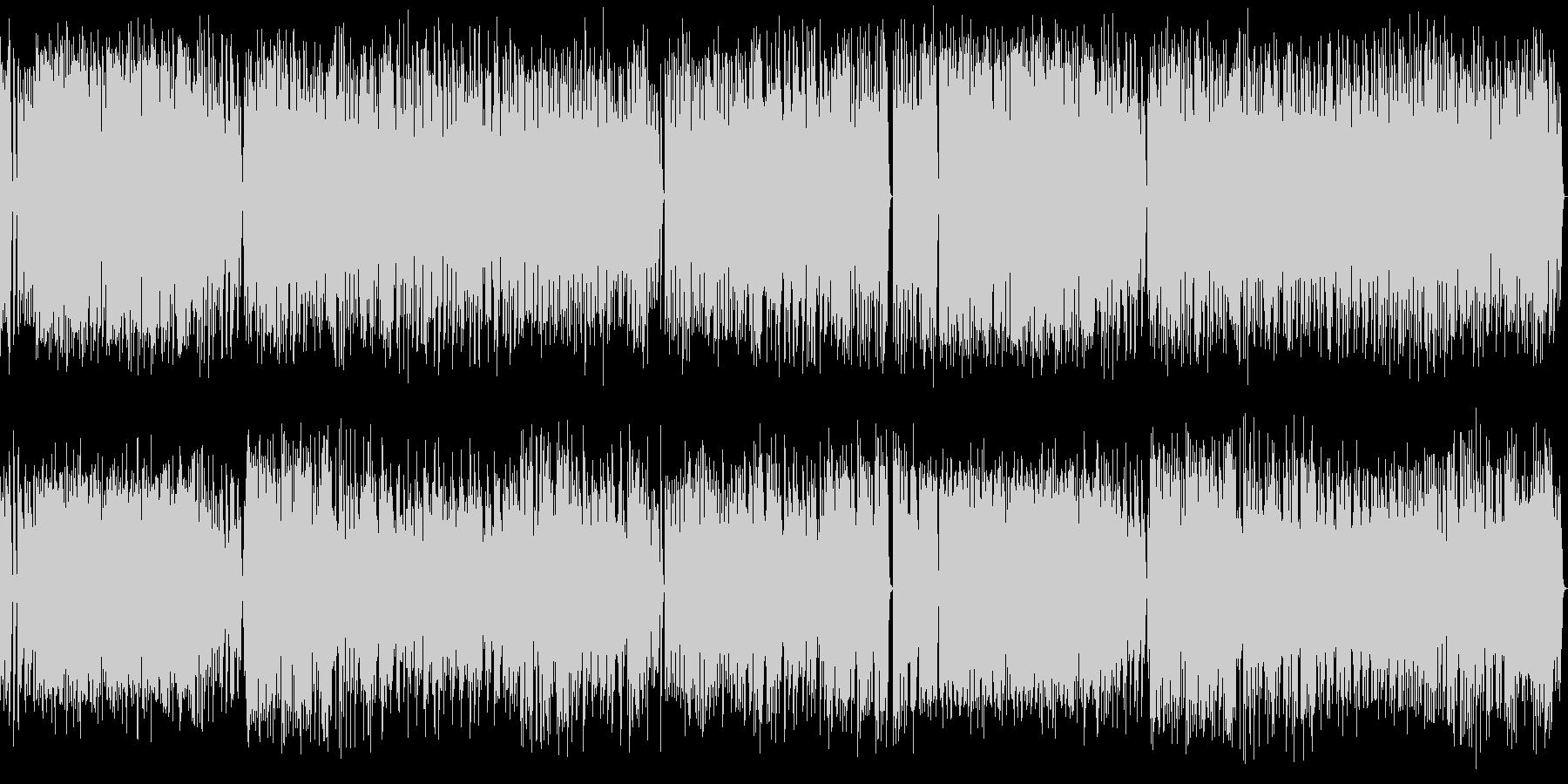 短調のラグタイムピアノ曲 の未再生の波形
