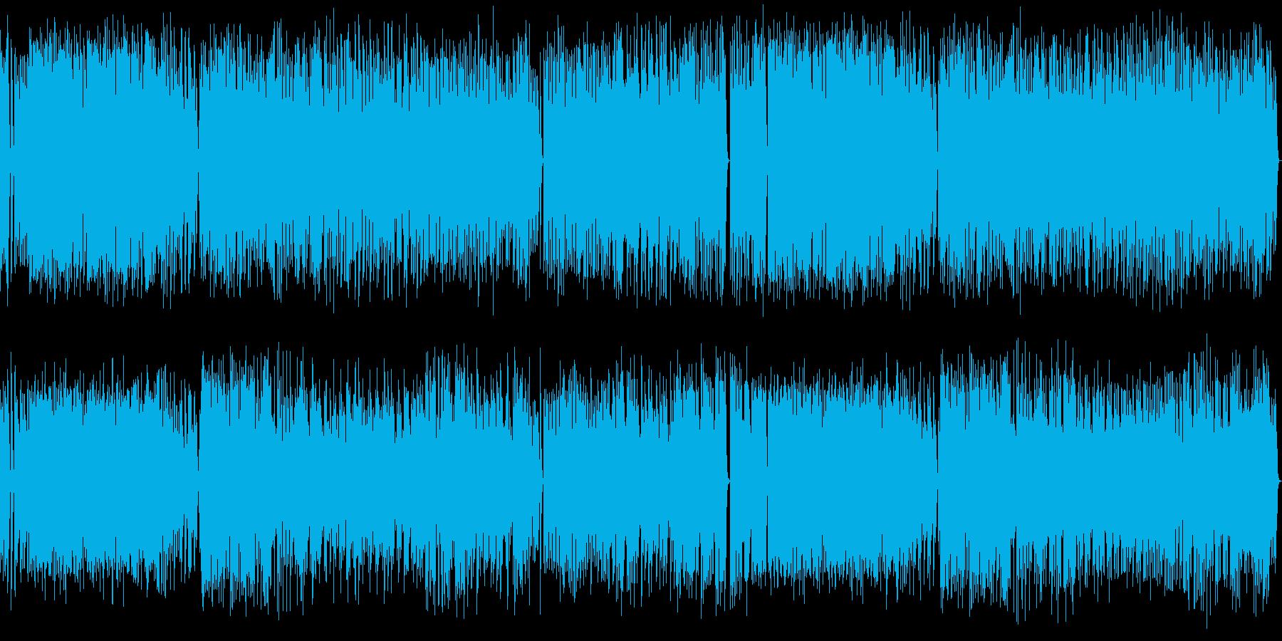 短調のラグタイムピアノ曲 の再生済みの波形