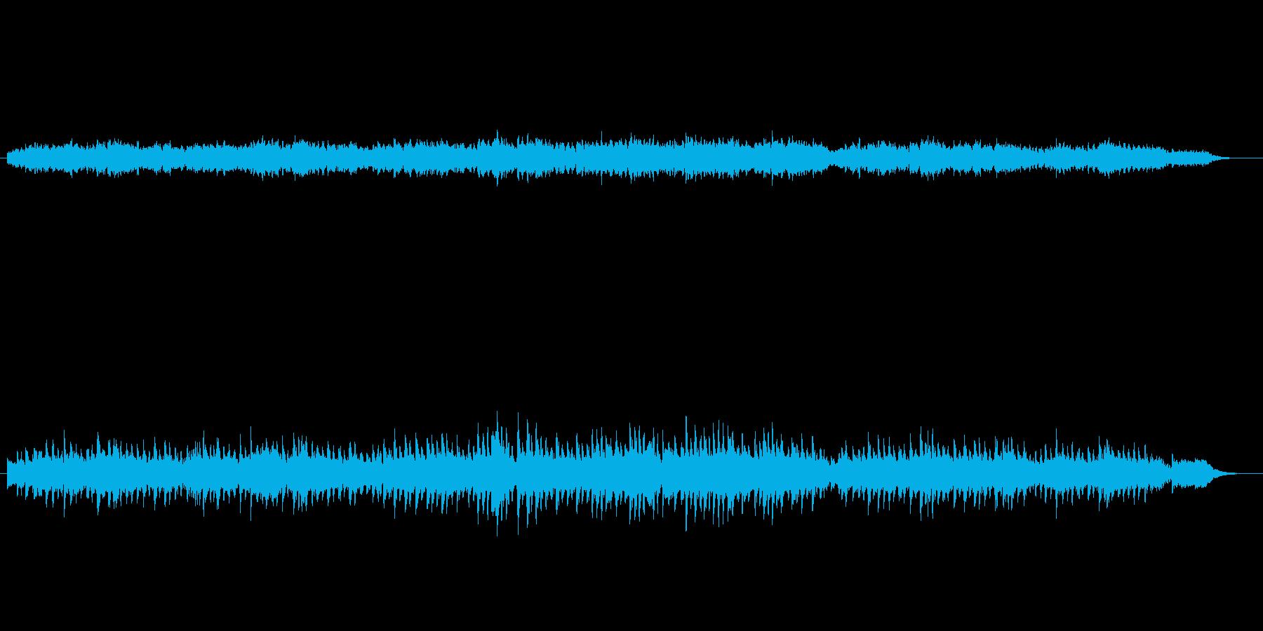 雨だれのプレリュードの前半をキラキラし…の再生済みの波形