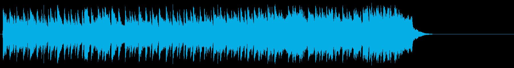 心弾む可愛らしいポップ(サビ~イント…)の再生済みの波形