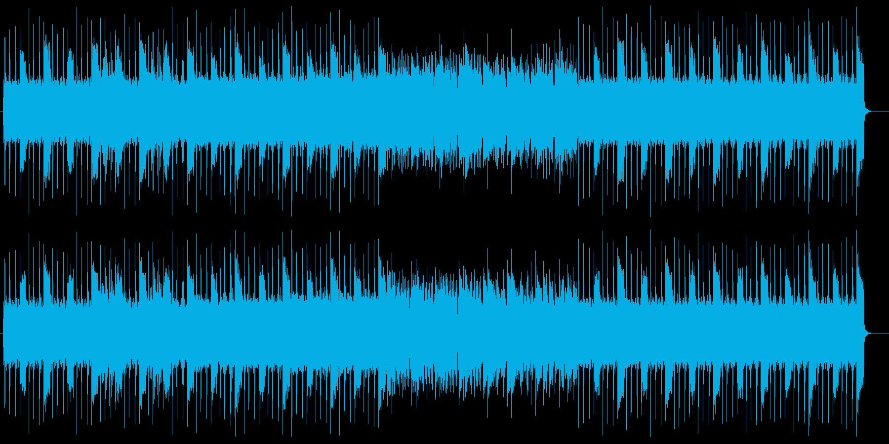 おしゃれでファンタジーなシンセサウンドの再生済みの波形