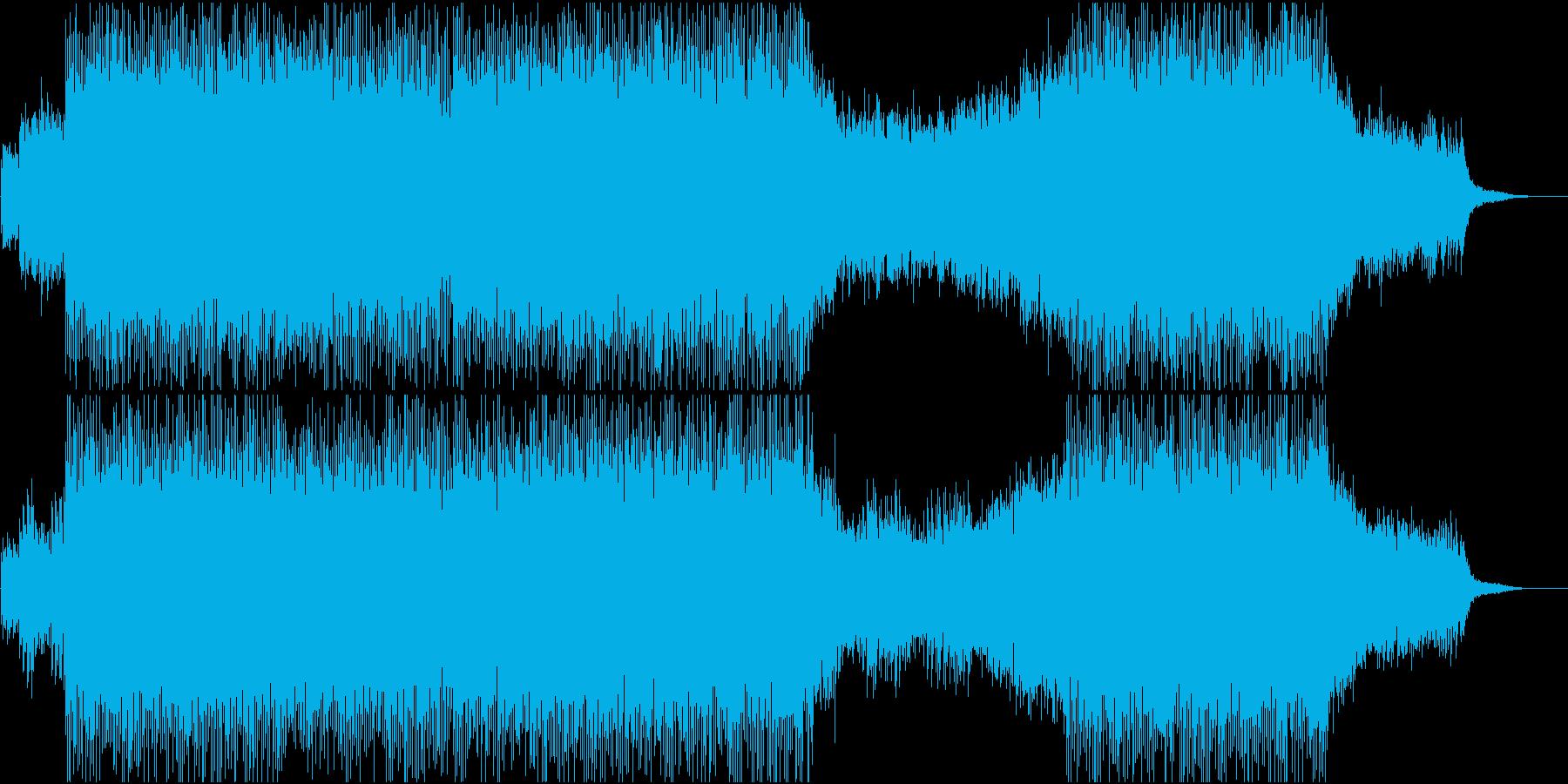 企業VP/会社VP/前向き/爽やかBGMの再生済みの波形