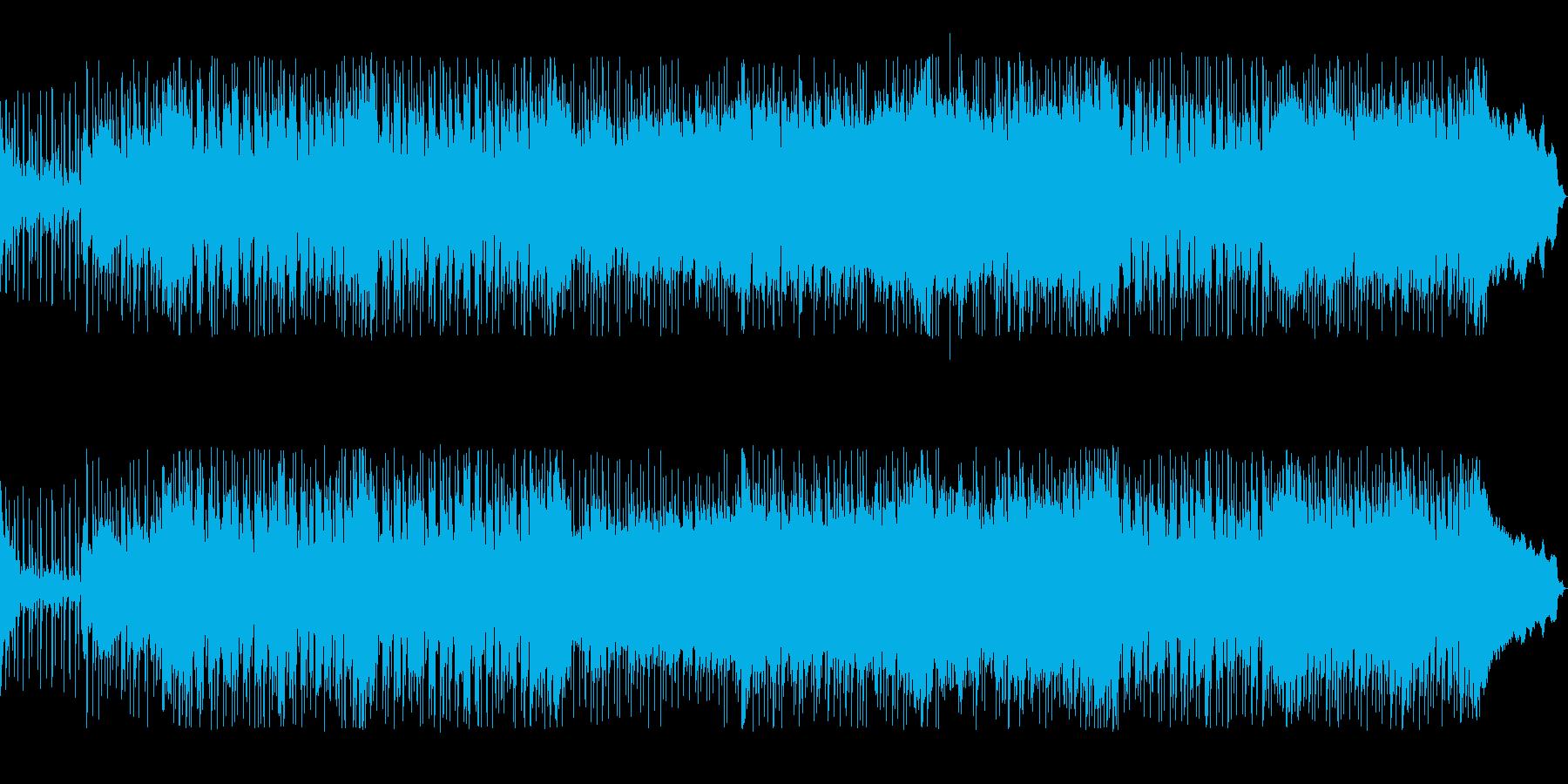 個性的なフレーズ、スピード感があるロックの再生済みの波形