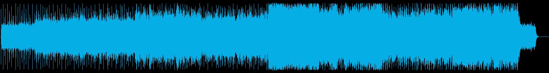 星 宇宙 幻想的 回想 幸福 ブライダルの再生済みの波形