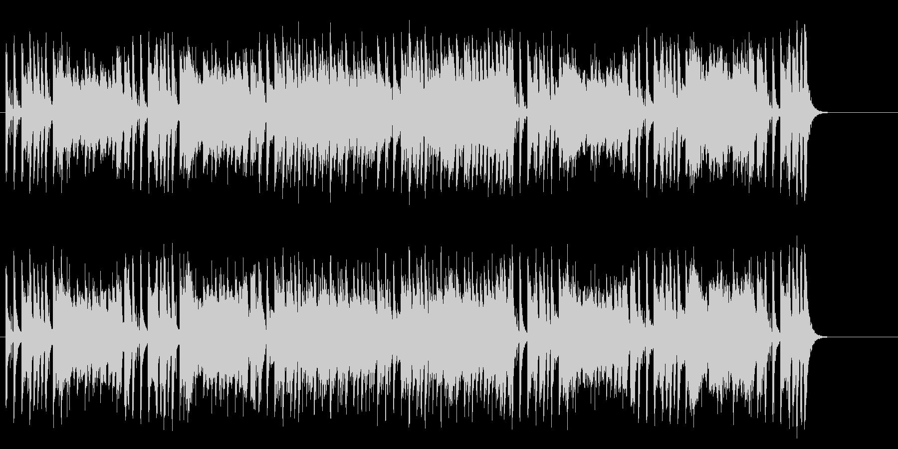 とぼけた感じがおちゃめなコミカルサウンドの未再生の波形