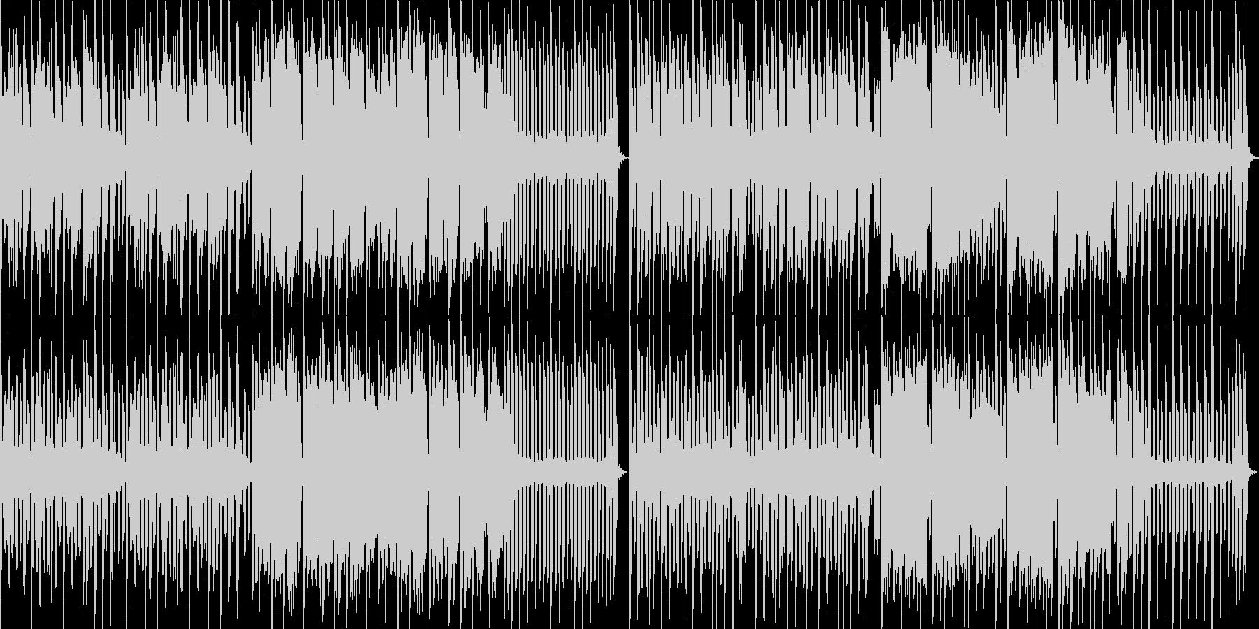 スーパーファミコン風アクション系BGMの未再生の波形