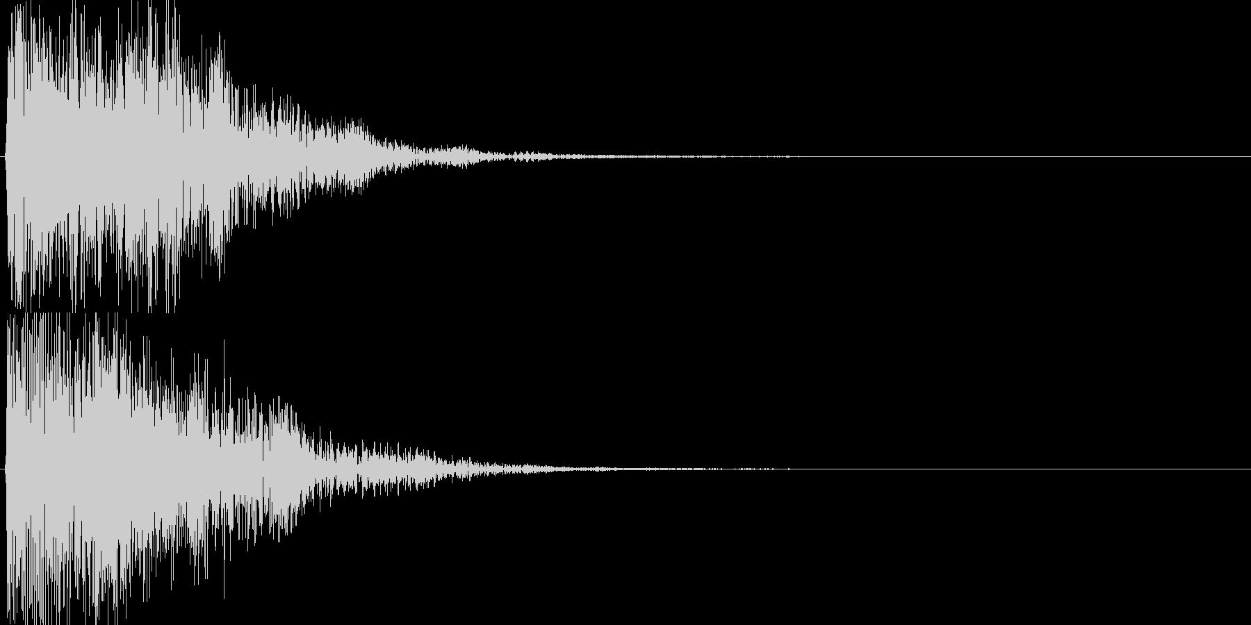 ピコ(ゲーム、アプリなどの操作音08)の未再生の波形