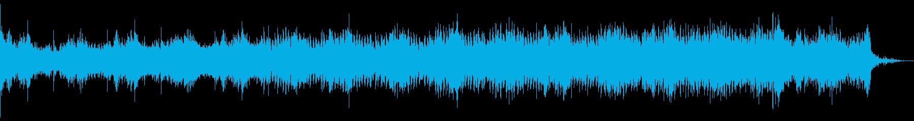 アンビエント環境音楽ヒーリング-07の再生済みの波形