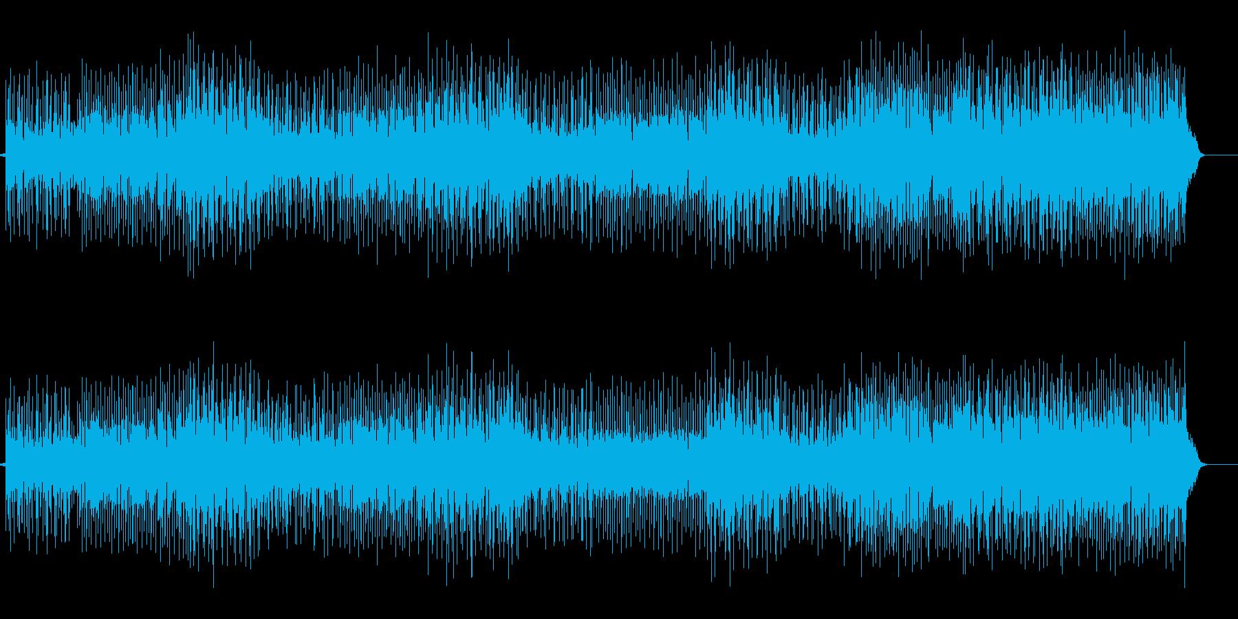 爽快なダンサンブルナンバー!ハイテンシ…の再生済みの波形