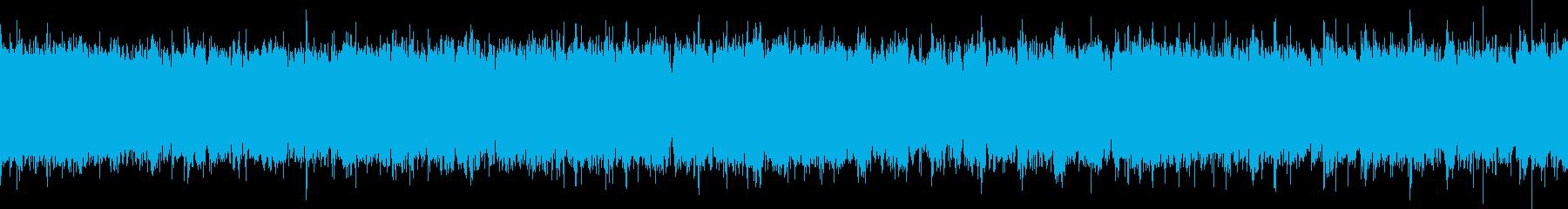 ダークなファンクループ(ちょっとテクノ)の再生済みの波形