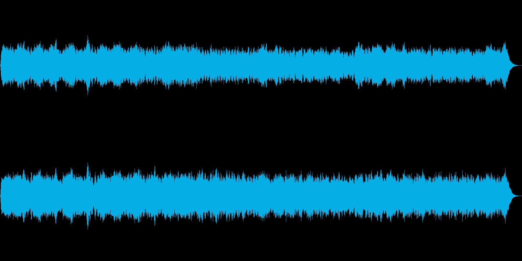 パイプオルガンのオリジナル前奏曲です。の再生済みの波形