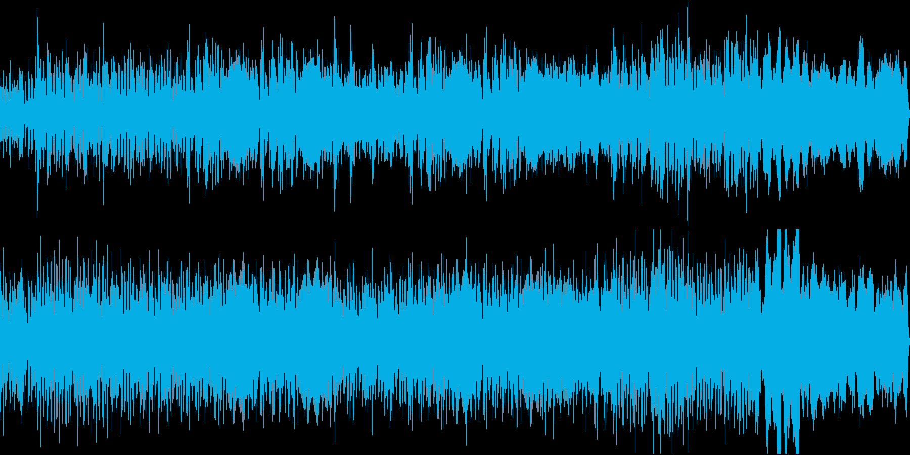小オーケストラ リズミカル ループ版の再生済みの波形