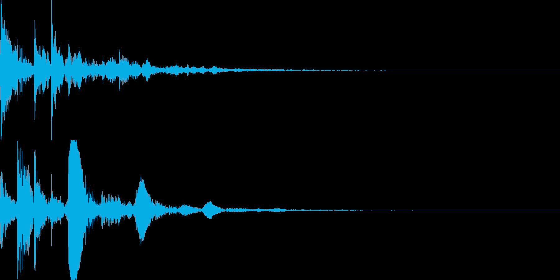 サウンドロゴ31_シンセCGの再生済みの波形