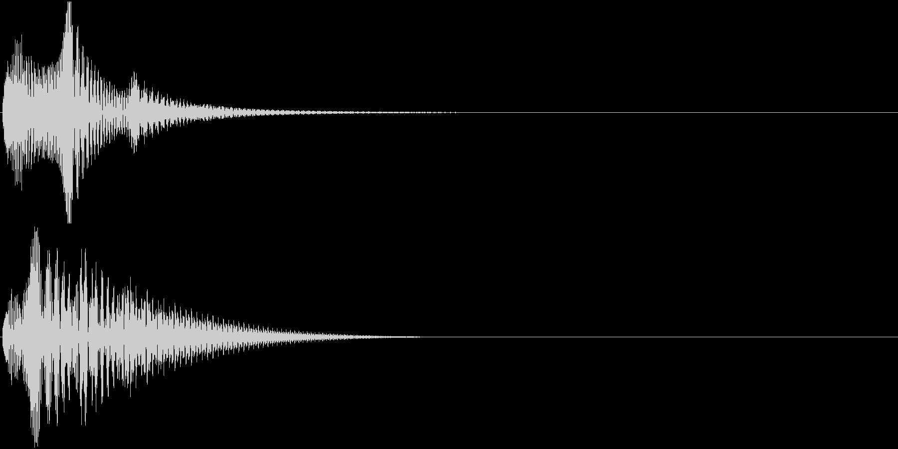 Baby 幼児玩具向け可愛い電子音9の未再生の波形