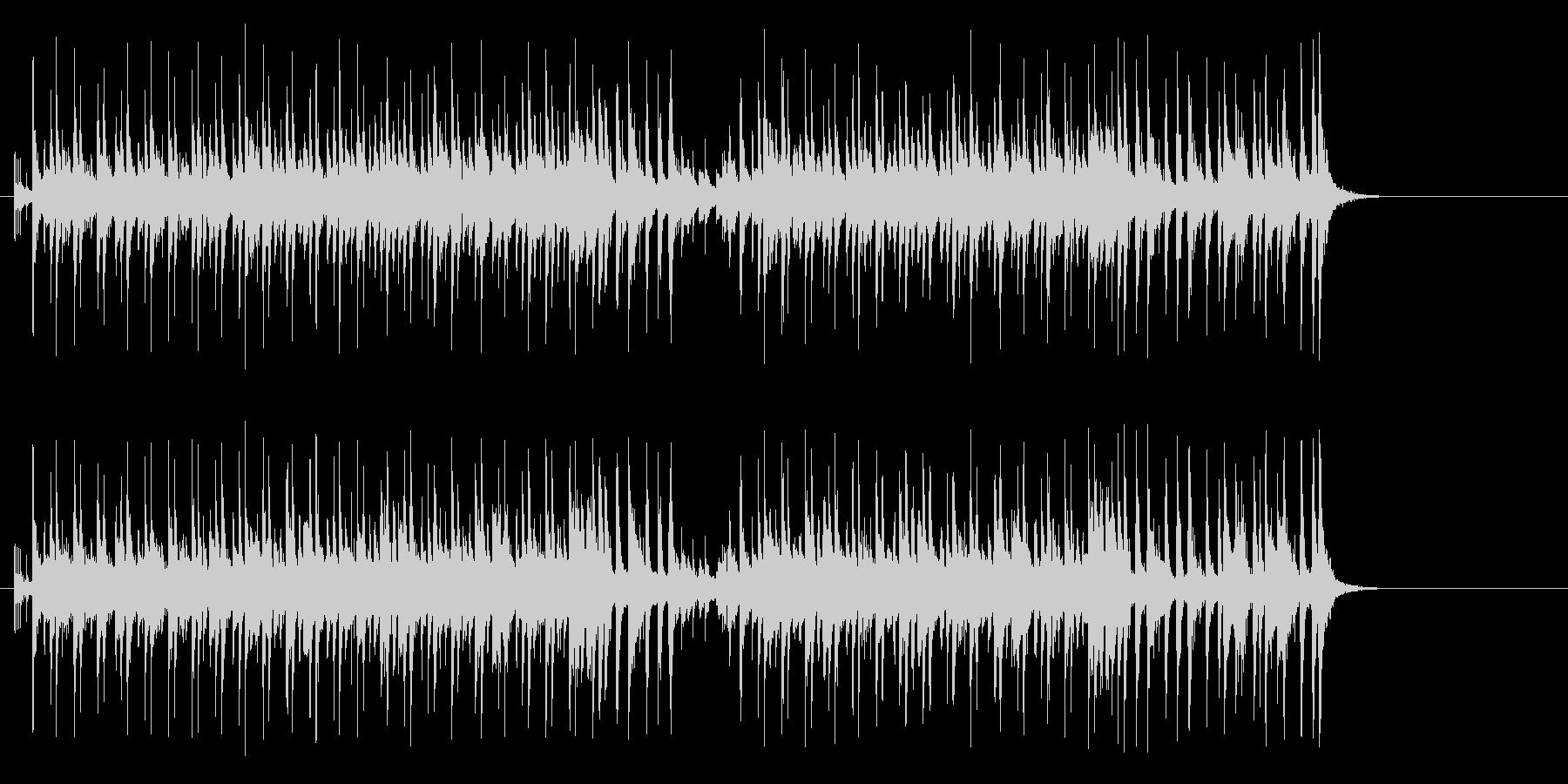 フレンチテイストのボサノバ、CM向きの未再生の波形