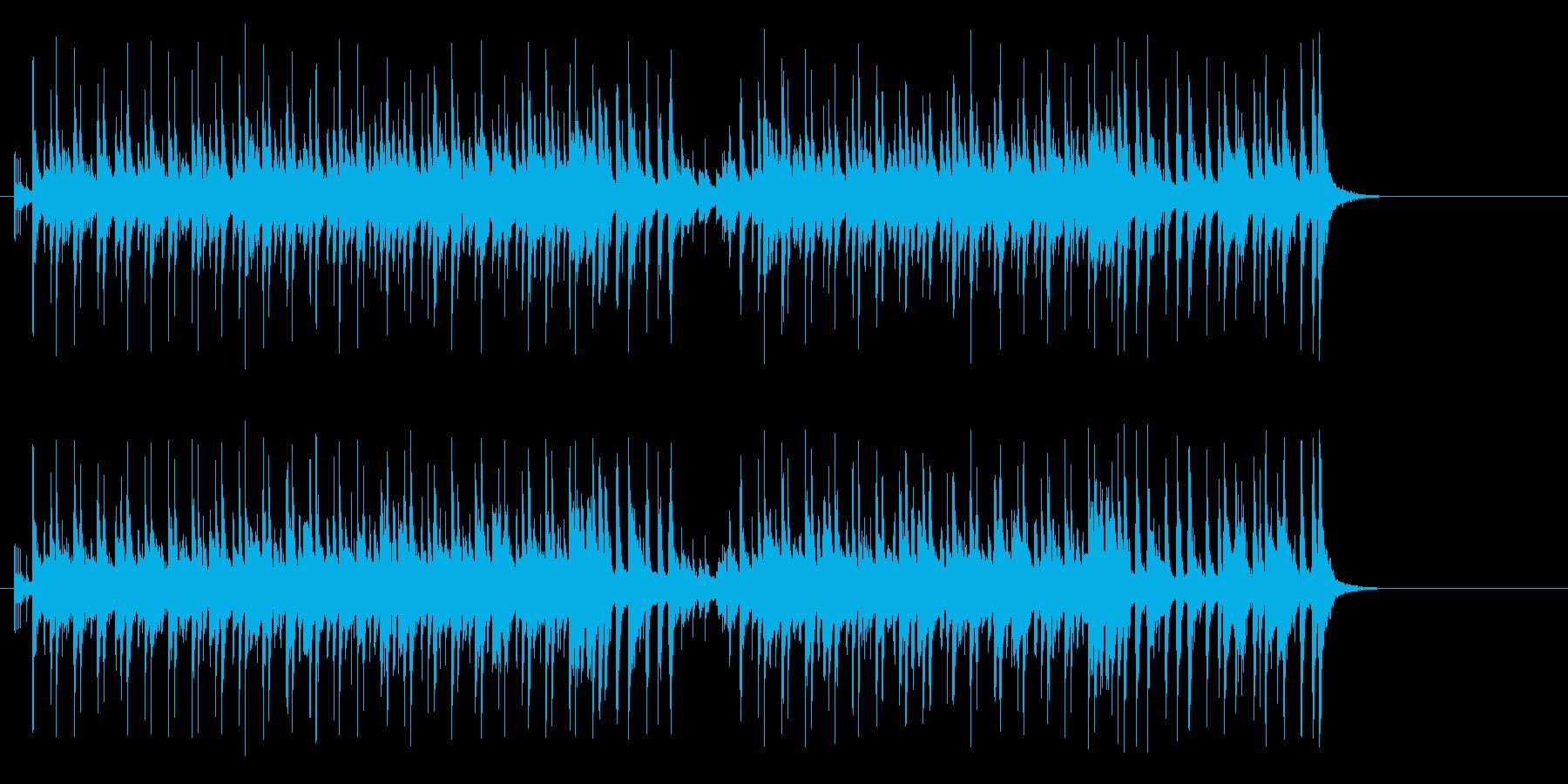フレンチテイストのボサノバ、CM向きの再生済みの波形