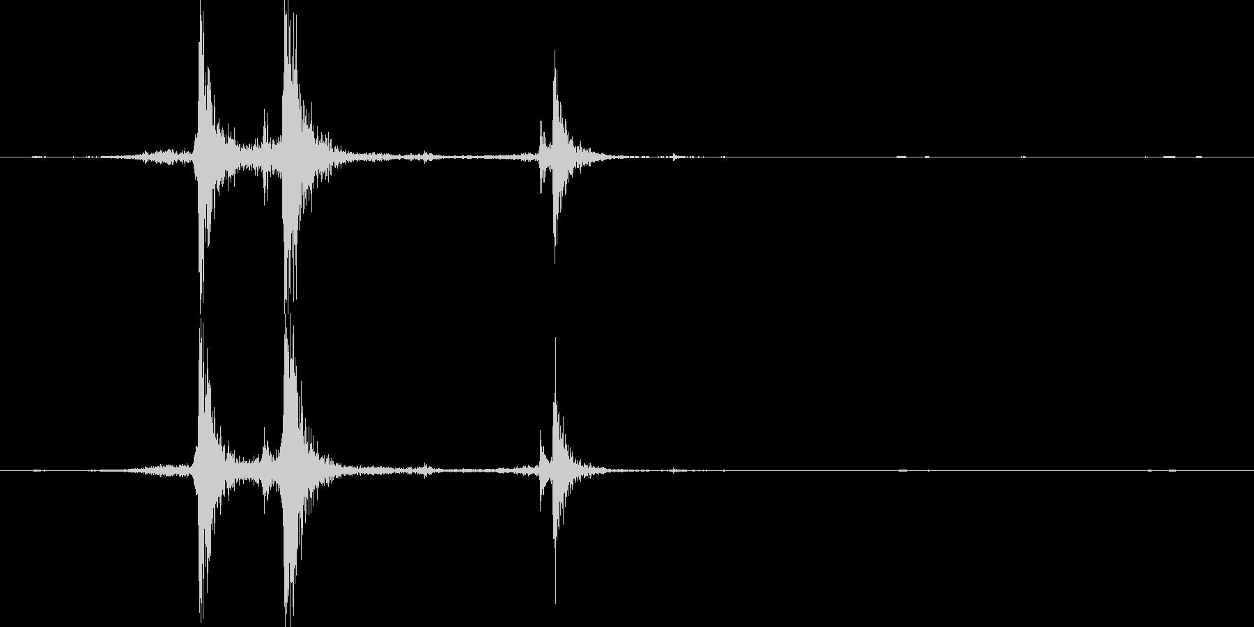 【機械/ロボット系011】カシャン3の未再生の波形