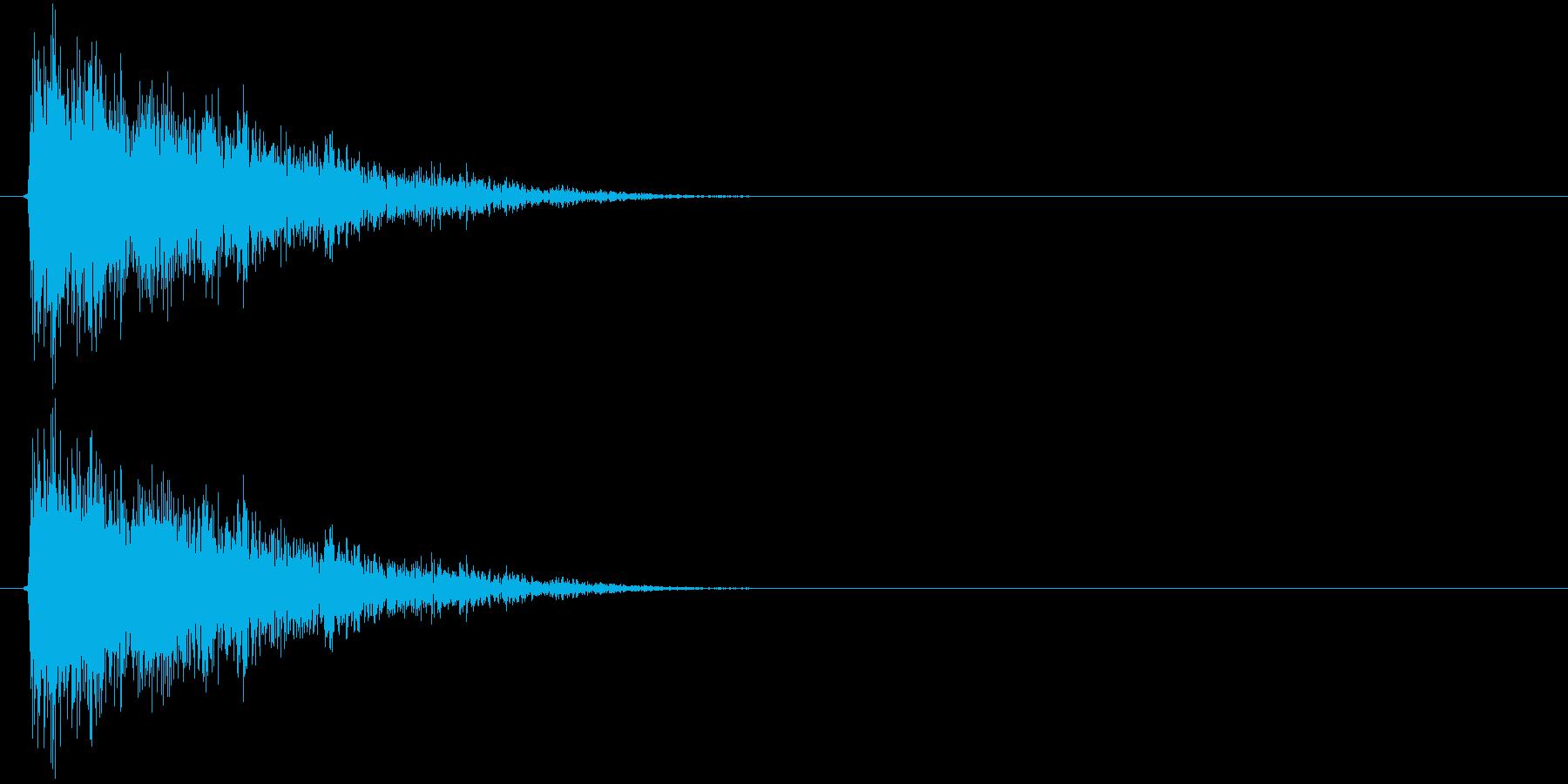 シューーン↓(STG、スピードダウン)の再生済みの波形