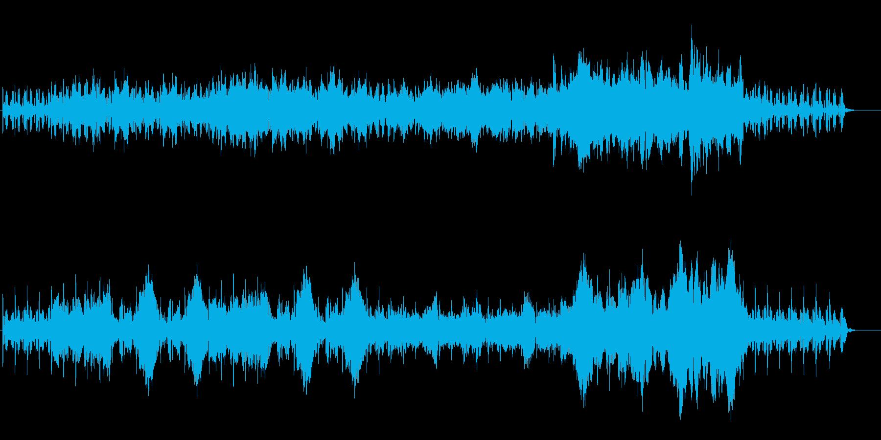 牧歌的なオーケストラの再生済みの波形