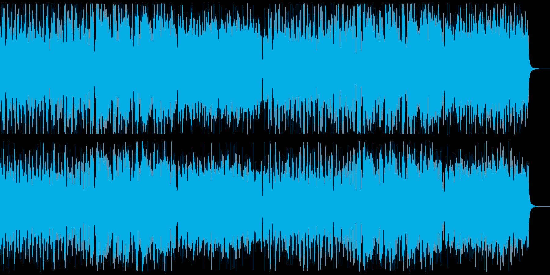 教材・知育・ワクワクポジディブな曲の再生済みの波形